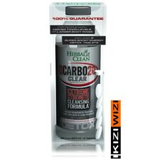 Herbal Clean QCarbo 20 oz Clear STRAWBERRY MANGO & 5 SUPER BOOST TABLETS