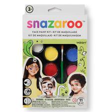 Snazaroo Halloween Fancy Dress Face Painting Palette Make Up Viso Pittura Set Nuovo