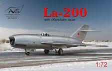 """Avis 1/72 Lavochkin La-200 con """"Korshun"""" radar # 72014"""