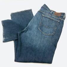 Lucky Brand 181 Relaxed Straight Men's size 48x34 Dark wash Blue Denim Jeans