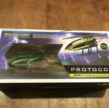 Protocol Spir 3.5 Channel Green Remote Control Helicopter (Barely Used)