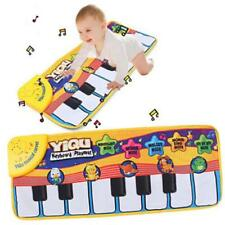 Piano Music Keyboard Mat Blanket Touch Play Learn Singing Gift Carpet Kids Toy J