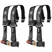 "Pro Armor 4 Point Harness 2"" Black RZR XP 4 Maverick 900 1000 Turbo S Max RS1 X3"