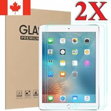 2-Pack Tempered Glass Screen Protector for iPad Mini 1 2 3 4 5 Aiir Pro 9.7 12.9