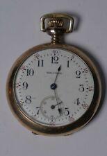 Gold Plated Small Waltham Mass Pocket watch, keyless,
