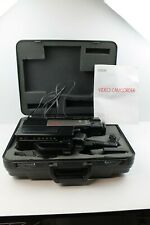 Vintage Rca Vhs Camcorder Cc250 Carrying Case Accessories Used