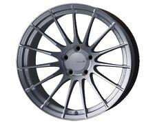 Enkei RS05-RR 18x9.5 43mm Offset 5x100  75.0 Bore Sparkle Silver FR-S BRZ Subaru