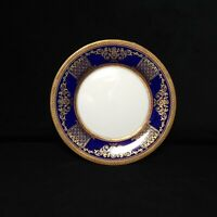 NEIMAN MARCUS Legend Cobalt 9321 Cobalt Blue Gold Trim Bread & Butter Plate