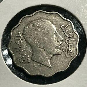 1931 IRAQ 4 FILS NICE COIN
