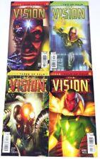 VISION 4 ISSUE COMPLETE SET 1-4 (2002) MARVEL AVENGERS