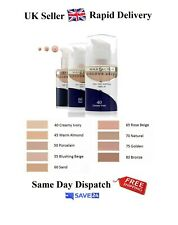 Max Factor Colour Adapt Foundation 34ml  - Choose Your Shade - Fast Delivery