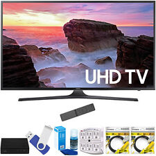 "Samsung 55"" 4K Ultra HD Smart LED TV 2017 Model with Terk Tuner Bundle"