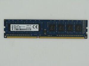 KINGSTON HP 698650-154 - HYAG 4 Go DDR3 PC3-12800U 1Rx8 Pc Mémoire RAM