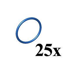 LEGO Technic 25 pcs NEW BLUE LARGE RUBBER BAND 4x4 Round belt Part x89 education