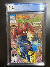 Spider-Man #18 CGC Graded 9.4 JAN 1992 Marvel Comics White Pages GHOST RIDER