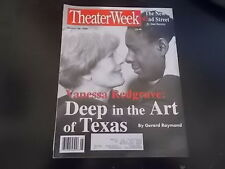 Vanessa Redgrave - Theater Week Magazine 1996
