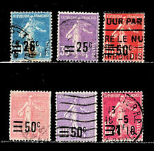 France Sercharges Collection Lot Off Paper Used Unchecked Value   A526>