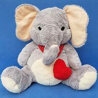 MORGENROTH ELEFANT STOFFTIER 45 CM WEICH SCHLENKER ELEPHANT HERZ LOVE