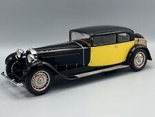 Bugatti TYPE 41 Royale Coach by Weymann, black/yellow, RHD 1929 1:18 CMF * NEW *