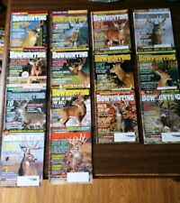 Peterson's Bowhunting magazine lot of 14 mixed years