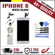 AA+ LCD TOUCH SCREEN/SCHERM/ÉCRAN ASSEMBLY WHITE BLANC + TOOLS FOR IPHONE 6 4.7""