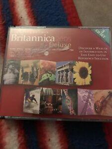 BRITANNICA ENCYCLOPEDIA 2005 DLX - 3CDS VideoGames