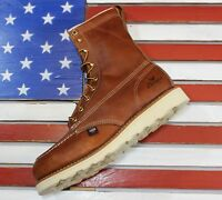 "Thorogood 8"" American Heritage Soft Toe MOC Work Boots [814-4201] FACT2ND USA"