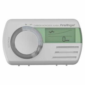 FireAngel CO-9D Digital Carbon Monoxide Detector - White