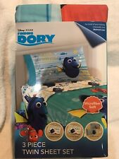 Finding Dory Nemo Twin Sheet 3pc Set New Disney Pixar