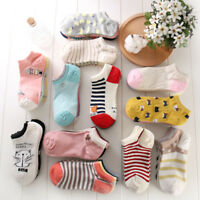 5 Pairs Womens Ankle No Show Soft Breathe Loafer Boat Low Cut Cotton Socks New