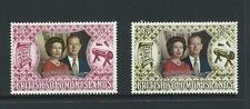1972 The 25th Anni Wedding QE 11 Set of 2 Stamps complete MUH/MNH as per Scan