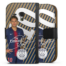 Samsung Galaxy S3 mini Tasche Hülle Flip Case - Neymar JR - Gold