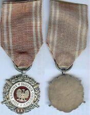 WW2 SPLENDIDA E R@RA MEDAGLIA POLOGNE Medal Siły Zbrojne w Służbie Ojczyzny  XX