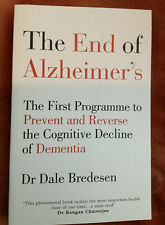 The End of Alzheimer's - Dr. Dale Bredesen, Paperback, New,  - Fast Free Ship