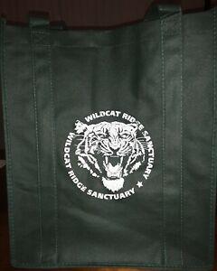 WildCat Ridge Sanctuary angry tiger tote bag