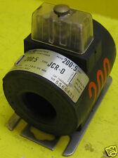 General Electric Type JCR-0 750X34G52 Ratio 200:5 A Current Transformer GE CT O