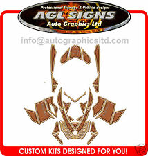 WOODY WRAP  for SKI-DOO XP 2008-12  mxz  summit  renegade  decal