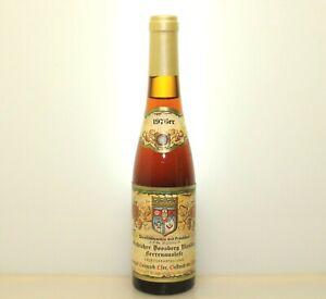 1976 Oestricher Doosberg Riesling Beerenauslese Eser 45 Geburtstag #db10300