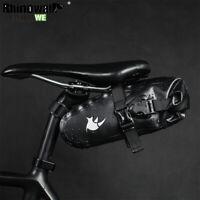 Cycling Bicycle Rear Seat Bag Waterproof MTB Bike Pannier Saddle Pouch Tail Bag