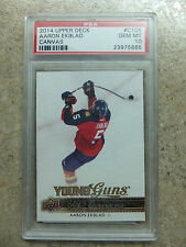 14-15 UD Young Guns YG Canvas #C105 AARON EKBLAD RC Rookie Graded PSA 10