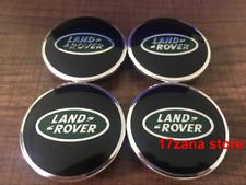 4x LAND ROVER ALLOY WHEEL CENTRE HUB CAPS DISCOVERY FREELANDER RANGE EVOQUE 63mm