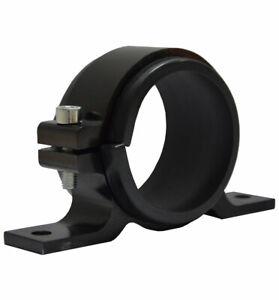 Lightweight Aluminium Single Gauge Mount Bracket Mount ID 60mm - Black WMH