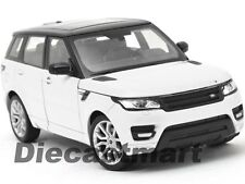 WELLY 1:24 2015 RANGE ROVER SPORT DIECAST MODEL CAR SUV WHITE 24059 NEW