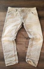 Diesel Krooley 0887Q Regular Slim-Carrot Jeans Size 38x32