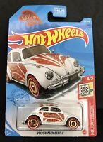 Valentine/'s Holiday Racers 4//5 VW Volkswagen Beetle Hot Wheels 2021
