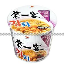 Taiwan One More Cup Instant Noodles, Kimchi Flavor, Mini Cups, 67g x 1 cup