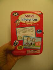 Super Duper Social Inferences Fun Deck with Secret Decoder - Fd92 - Slp / Aba