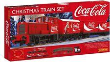 More details for rare hornby r1233 coca cola christmas electric train set new