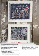 Chalkboard Art: Christmas Cross Stitch Pattern Only Yd Ereq