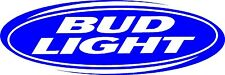 "Bud Light Budweiser Beer Sign vinyl sticker graphic Wrap Skin 20"" x 7"""